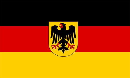 Bandera de Alemania Federal